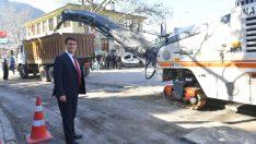 Osmangazi'de asfalt harekatı başladı