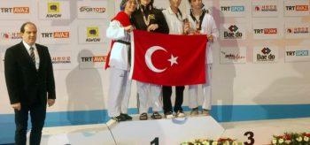 Turkish Open'da Osmangazili taekwondocudan bronz madalya