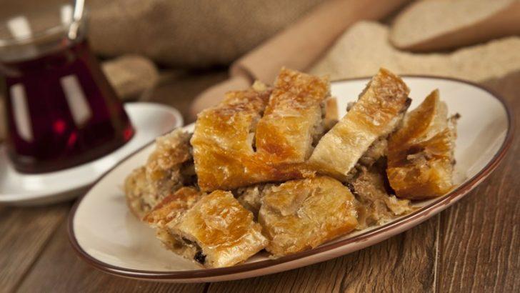 Bursa'nın favorisi kıymalı börek…