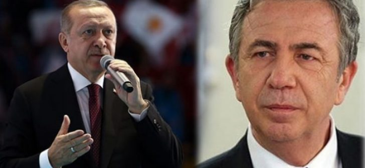Erdoğan'dan Mansur Yavaş'a bir tehdit daha!