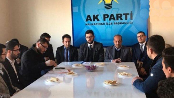 'AK Parti'nin oyları eriyor' dedi, istifa etti!