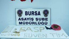 Bursa'da kuyumcu soyan silahlı soyguncular yakalandı