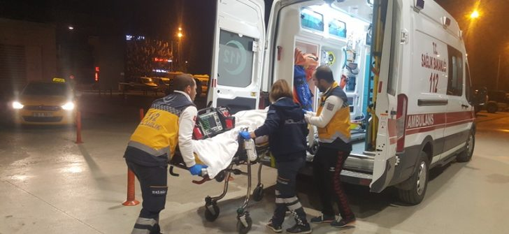 Batman'dan Bursa'ya ambulans uçakla hasta nakli