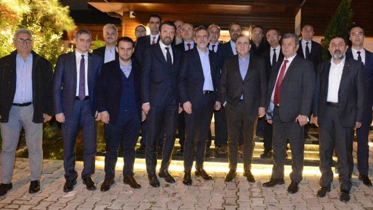 BTSO Başkanı Burkay, Organize Sanayi Bölgeleri Konseyi üyeleriyle buluştu