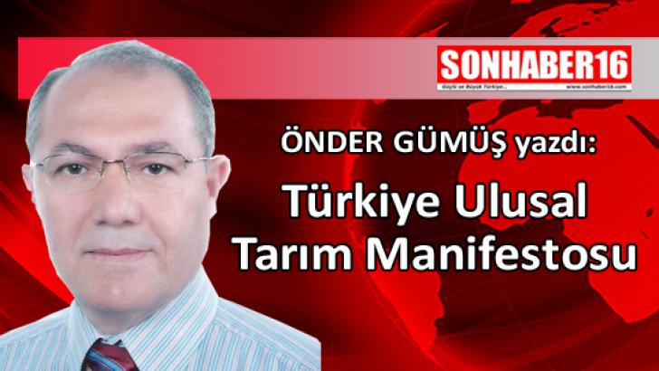 Türkiye Ulusal Tarım Manifestosu