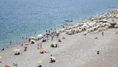 Gazipaşa'da Suriyeli mültecilere plaj yasağı