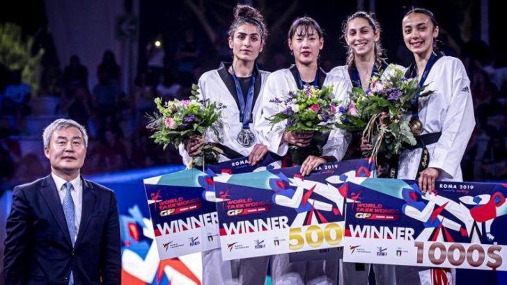 Bursalı taekwondocu İlgün'den gümüş madalya