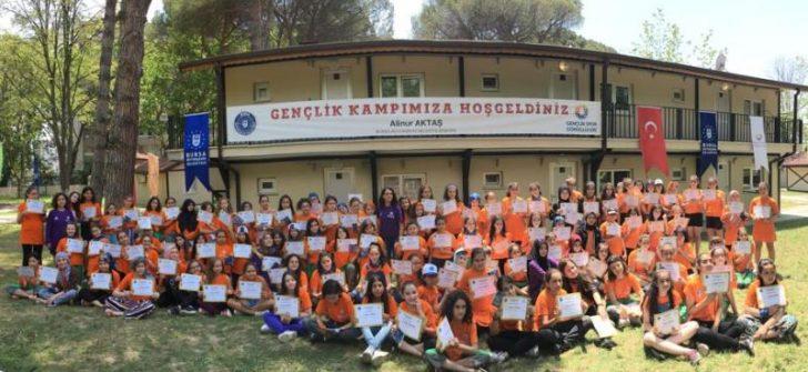 """Bursa'da Gençlik Kampları """"start"""" dedi"""