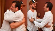 Şarkıcı Murat Boz, İmamoğlu ile bir araya geldi!