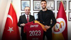 Okan Kocuk, Galatasaray'da…