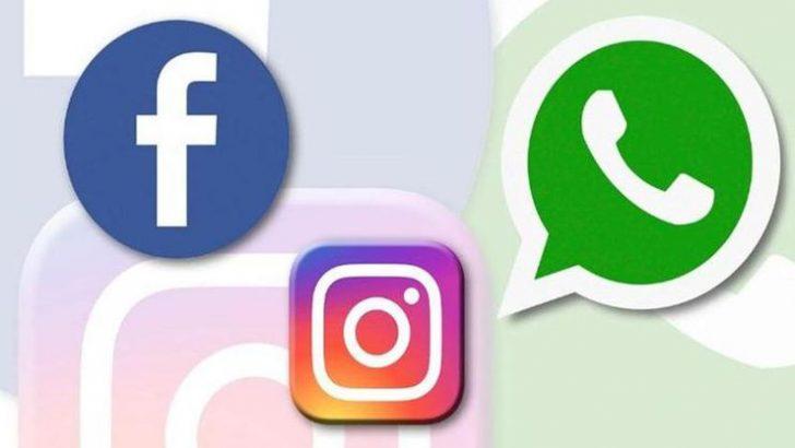 Instagram, WhatsApp ve Facebook çöktü!