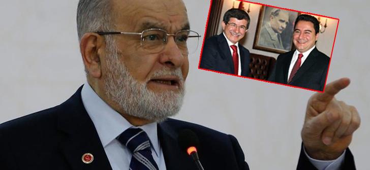 SP lideri Karamollaoğlu; Gül, Davutoğlu ve Babacan ile görüşecek