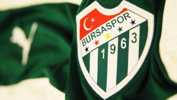 Bursaspor'dan transfer açıklaması…