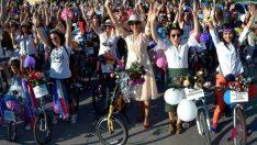 'Süslü kadınlar' Bursa'da pedal çevirecek