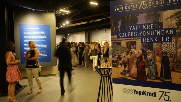 Bursa'da Yapı Kredi Koleksiyonu'ndan Renkler Sergisi