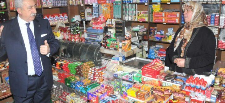 Palandöken: AVM ve zincir marketler, esnafı zorluyor