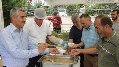Kayapa OSB'de geleneksel aşure ikramı…
