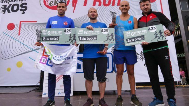 Eker I Run 2019'da sağlıklı yaşam için 2.583 kişi koştu