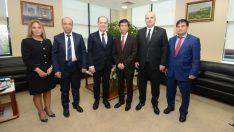 Bursa'ya 8 bin kilometre öteden işbirliği teklifi