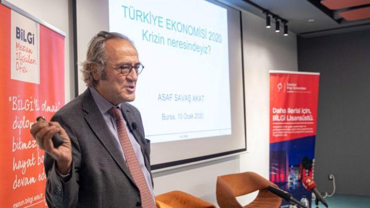 Akademisyenler Bursa'da Türkiye'nin ekonomisini tartıştı