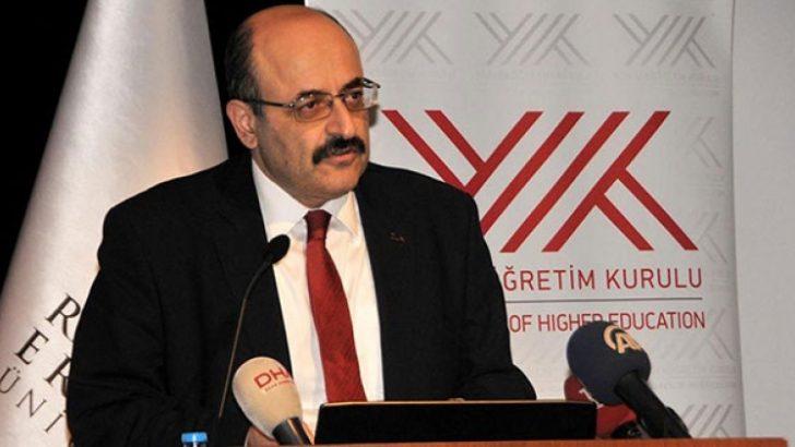 YÖK Başkanı Yekta Saraç'tan özel üniversite çıkışı
