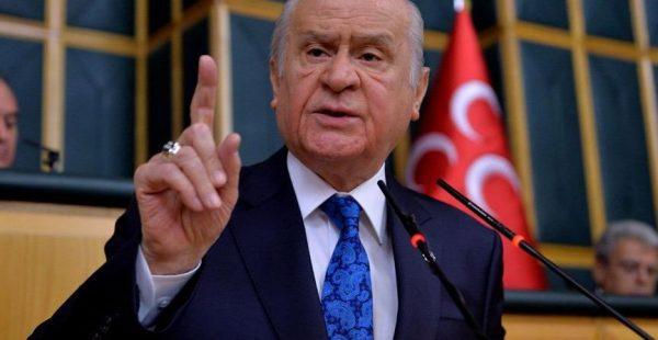MHP lideri Bahçeli, erken seçimi mi kast etti?