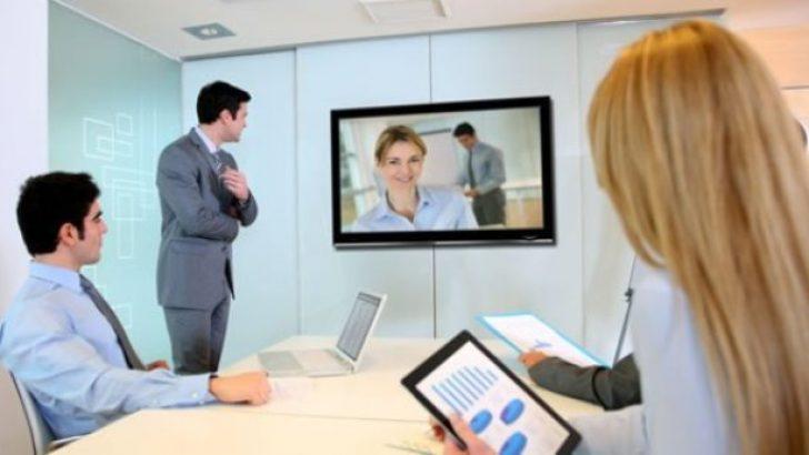 Evden çalışma, online toplantı sistemlerine ilgiyi artırdı