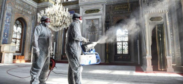 İBB, etkili ve güvenilir dezenfektan ürünlerini kullanıyor