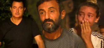 Ersin Korkut, Survivor 2020'ye veda etti