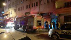 Karacabey'de hamamda yangın