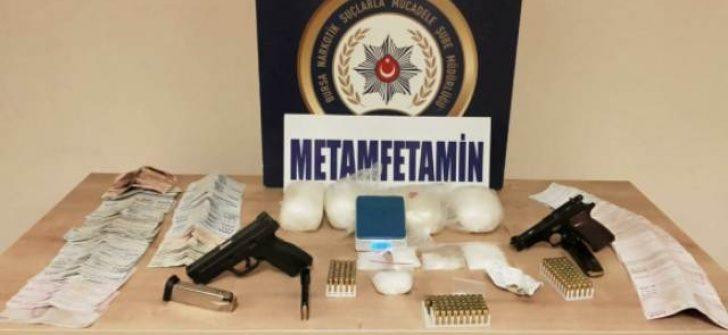 Bursa'da uyuşturucu operasyonu; 4 şüpheli yakalandı
